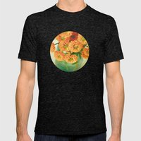 Autumn Day 28 Mens Fitted Tee Tri-Black SMALL