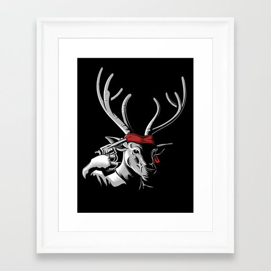 The Deer Hunter Framed Art Print