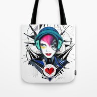 -War In My Heart- Tote Bag