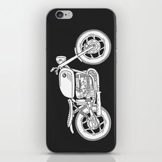 BMW R80 - Cafe Racer series #4 iPhone & iPod Skin