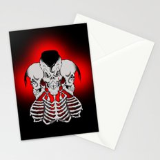 Psychobilly x 3 Stationery Cards