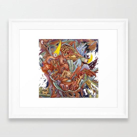Mind Game Framed Art Print