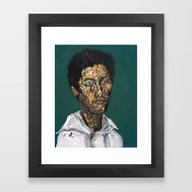 Painting: Bloody Carpe D… Framed Art Print