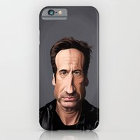 iPhone & iPod Case featuring Celebrity Sunday ~ David Duchovny by Rob Snow
