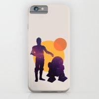 iPhone & iPod Case featuring Star Wars BFF by Ann Van Haeken