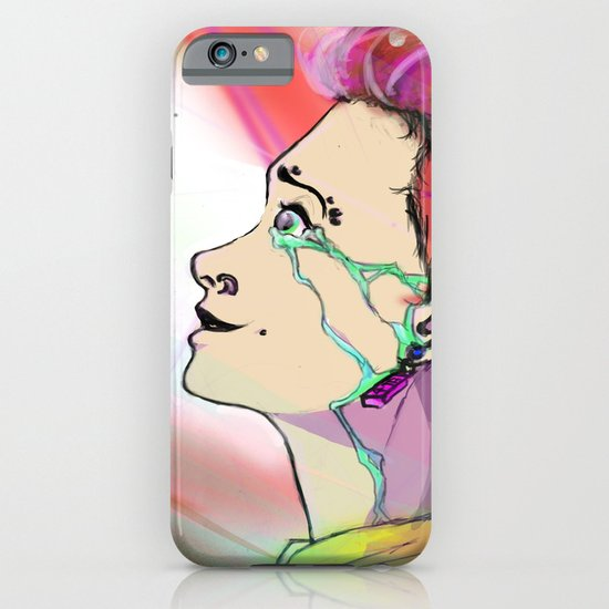 The Girl That Stared Into The Sun iPhone & iPod Case