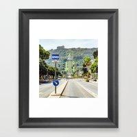 Bahai Gardens, Haifa Framed Art Print