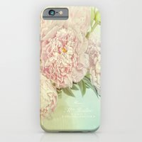 iPhone & iPod Case featuring peony dream by Lizzy Pe