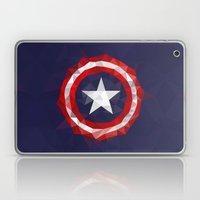 Meduzzle: Capitan's America Geometry Laptop & iPad Skin