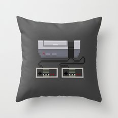NES 8-Bit Console Throw Pillow