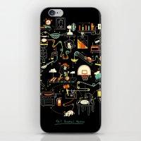 Breakfast Machine iPhone & iPod Skin
