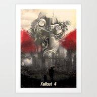 Fallout 4 Print Poster Art Print