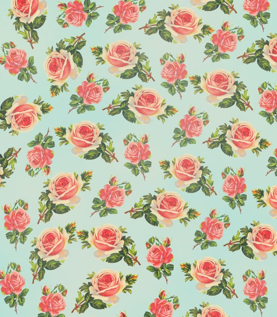 LONGING FOR SPRING- FLORAL PATTERN Art Print