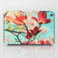 Spring dogwood blossoms iPad Case