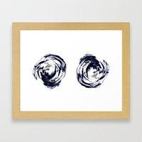Mind Pools Framed Art Print