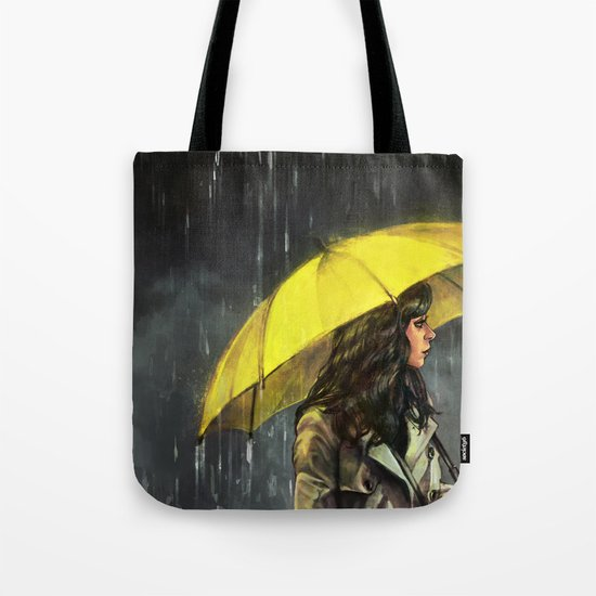 All Upon the Downtown Train Tote Bag