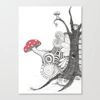 Sleepingland Canvas Print