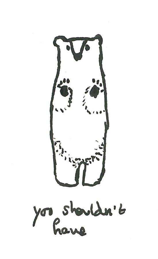 Have a Bear Art Print