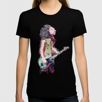 Born To Be Wild Womens Fitted Tee Black SMALL