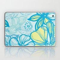 Oceanic Floral  Laptop & iPad Skin