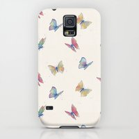 Galaxy S5 Cases featuring Butterflies by Tracie Andrews