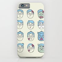 iPhone & iPod Case featuring Monster Mash Up by Leo Canham