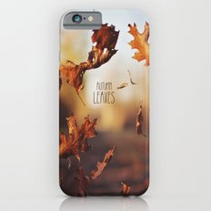 Autumn leaves as quickly as it arrives. Slim Case iPhone 6s