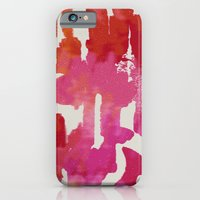 iPhone & iPod Case featuring Mystic Cloud 9: Red Multi by Eileen Paulino