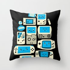 AXOR Heroes - Love For Handhelds Throw Pillow