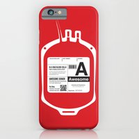 My Blood Type is A, for Awesome! iPhone 6 Slim Case