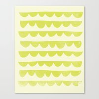 Scalloped Canvas Print