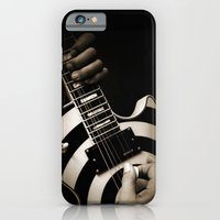 iPhone & iPod Case featuring The Guitar Player by Barbara Gordon Photography