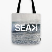 SEA>i Tote Bag