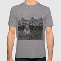 Sami Fox Mens Fitted Tee Athletic Grey SMALL