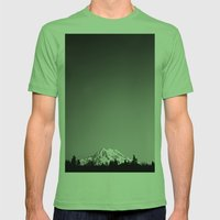 Mt. Rainier Mens Fitted Tee Grass SMALL