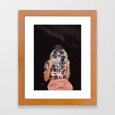 FACE TO FACE Framed Art Print