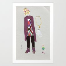 Beautiful Katamari Outfit(s) Art Print