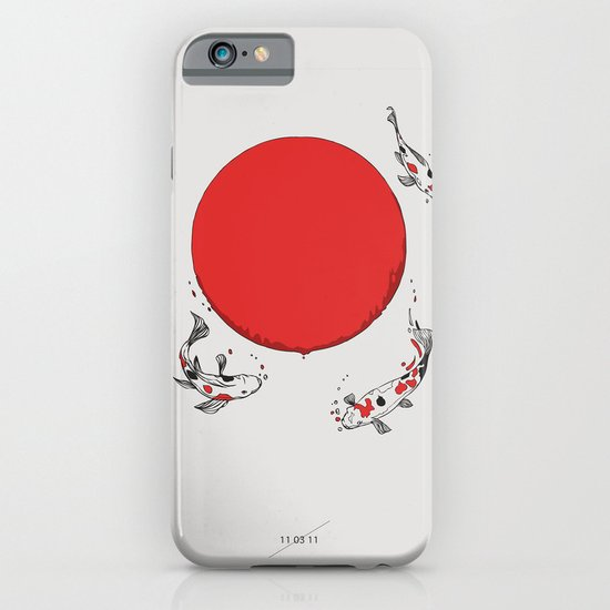 Koi and Sun iPhone & iPod Case