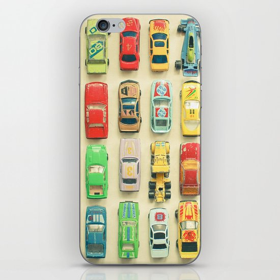 Car Park iPhone & iPod Skin