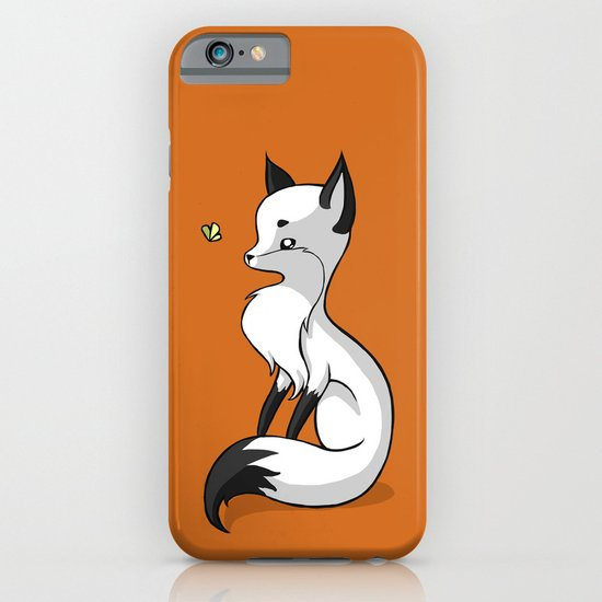 Fox and a Butterfly iPhone & iPod Case