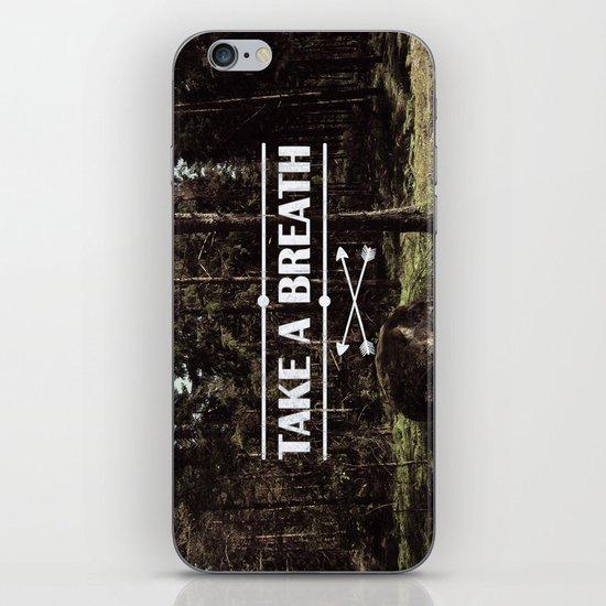 Take a breath iPhone & iPod Skin