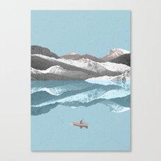 No River Wide Enough Canvas Print