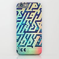 iPhone & iPod Case featuring hyttys bytch 'n thys plyyz by Spires