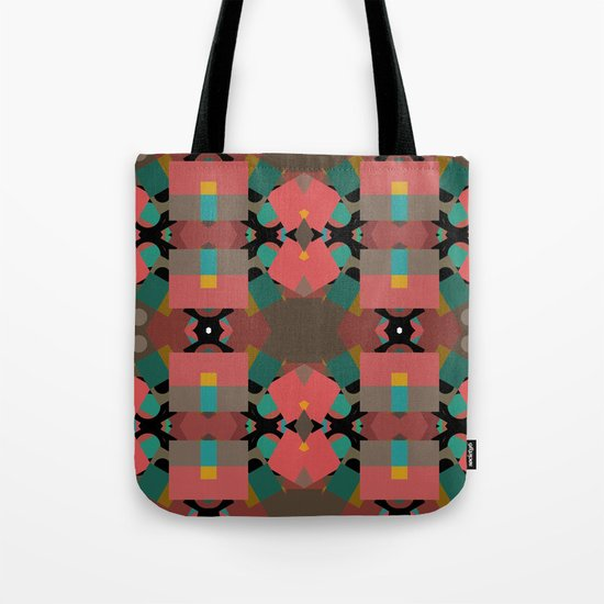 Geometic Crazy Mirror  Tote Bag