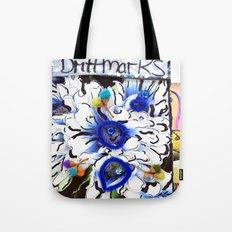 BlumenMuster blau brittmarks Tote Bag