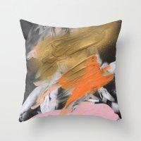 Sarcanogus Throw Pillow