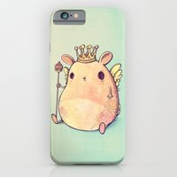 iPhone & iPod Case featuring Prince Angel of Bunnyland by Mike Koubou