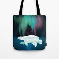 Polar Ice Tote Bag