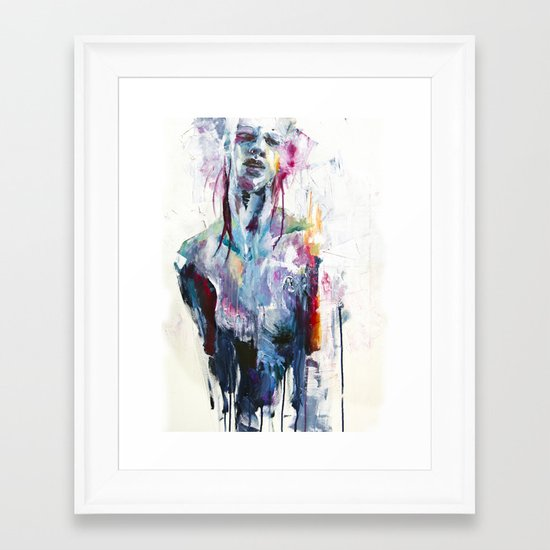 nothing is enough Framed Art Print