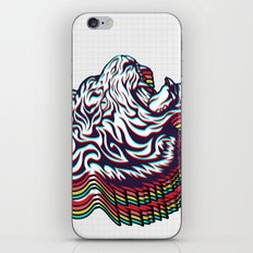 3D Tiger iPhone & iPod Skin